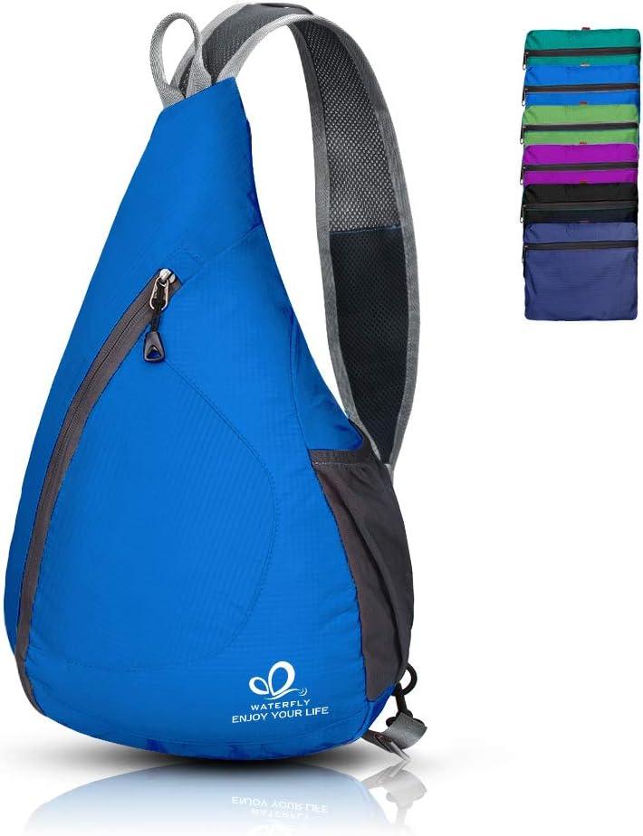Waterfly Packable Shoulder Backpack Sling Chest Crossbody Bag Cover Pack Rucksack