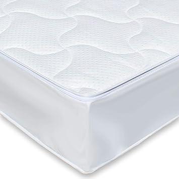 Traumreiter Wasserbett Auflage Wasserbett Bezug Allergiker Matratzen Bezug Ohne Wasserentleerung Jedes Wasserbett 200 X 220 Cm Silver