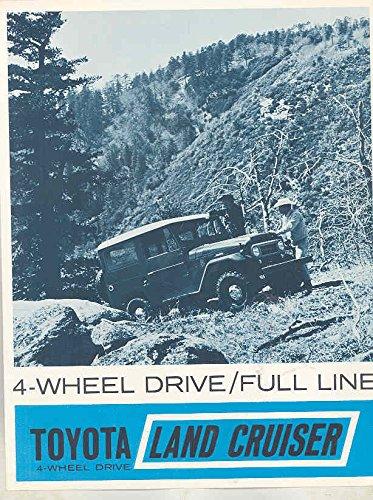 1965 1966 Toyota Land Cruiser FJ40 FJ45 Hardtop Wagon Pickup Brochure (Pickup Hardtops)