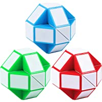 Annomor Sensory Fidget Snake Cube Twist Puzzles Toys Collection Brain Teaser Stocking Stuffers for Party Favors Game…