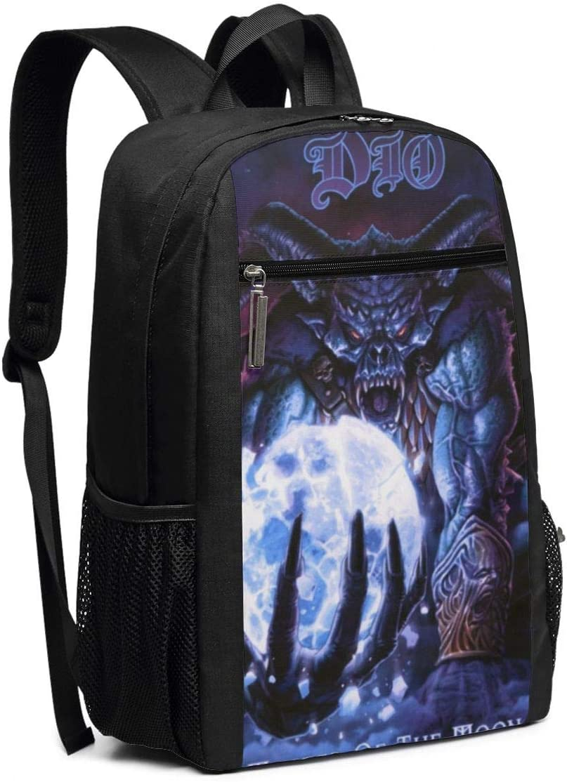 Homewifi Dio Master of The Moon 17 Inch Backpack Laptop Adjustable Shoulder Business Travel School