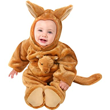 93b5ad7737f3 Amazon.com  Unique Baby Infant Kangaroo Animal Costume (6-12 Months)   Clothing