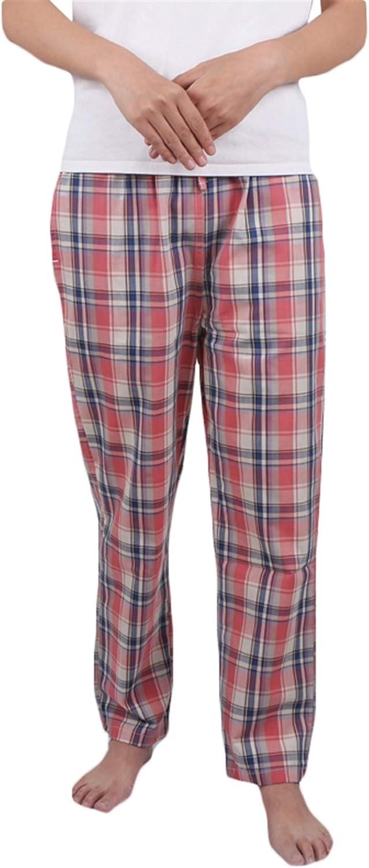 Icegrey Pantalon Bas de Pyjama Femme V/êtement dInt/érieur V/êtements de Nuit /à Carreaux