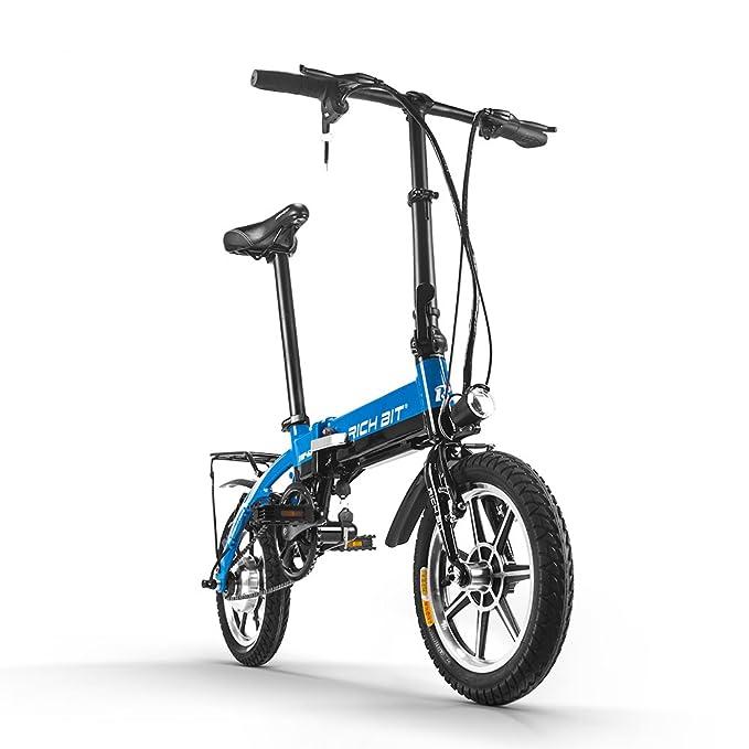 Eléctrico plegable Ciudad bicicleta - BMX bicicleta bicicleta de carretera RT618 250 W * 36 V * 8ah larga duración 14