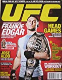 April/May 2011 UFC Magazine Frankie Edgar Jose Aldo Danny McBride