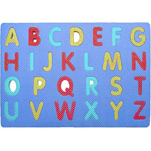 Westlake Art - Alphabet Foam Sponge Puzzles Playmats - Upper Case