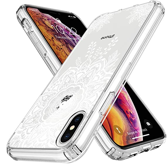 Amazon Com Lk Case For Iphone Xs Max Shock Absorbing White Henna