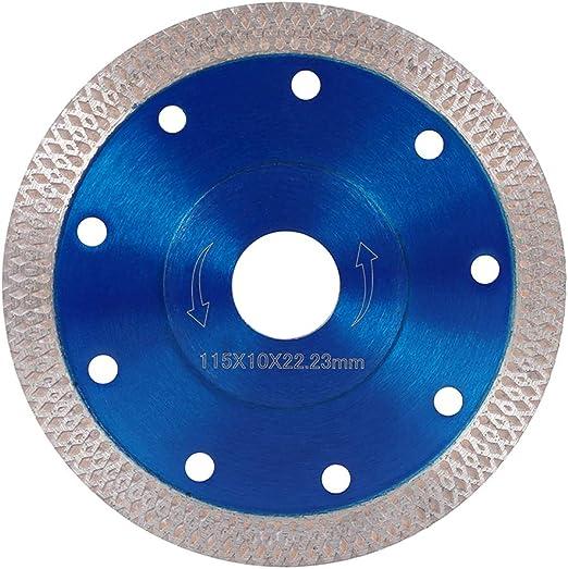 """4.5/"""" cercle diamants en céramique lame de scie Porcelaine Carrelage Marbre Coupe rouge"""