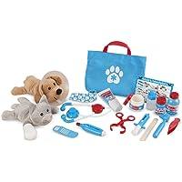 Melissa & Doug Examine & Treat Pet Vet Play Set (24-Piece)