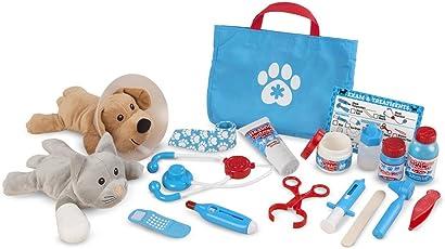 Melissa & Doug Examine & Treat Pet Vet Play Set (24 Pcs)