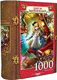 MasterPieces Lost in Wonderland - Alice in Wonderland 1000 Piece Book Box Jigsaw Puzzle