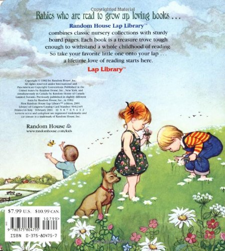 Eloise Wilkin's Poems to Read to the Very Young (Lap Library)