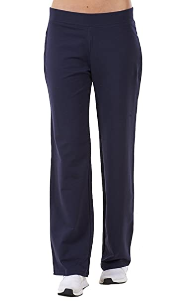 vast selection good texture luxuriant in design Ex Famous Store Ladies Cotton Stretch Tracksuit Bottoms Sports Gym Straight  Leg Joggers Pants
