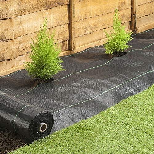 en negro o verde oliva 25 m Plantas binder de poli/éster resistente a la intemperie /& a la putrefacci/ón Effaband