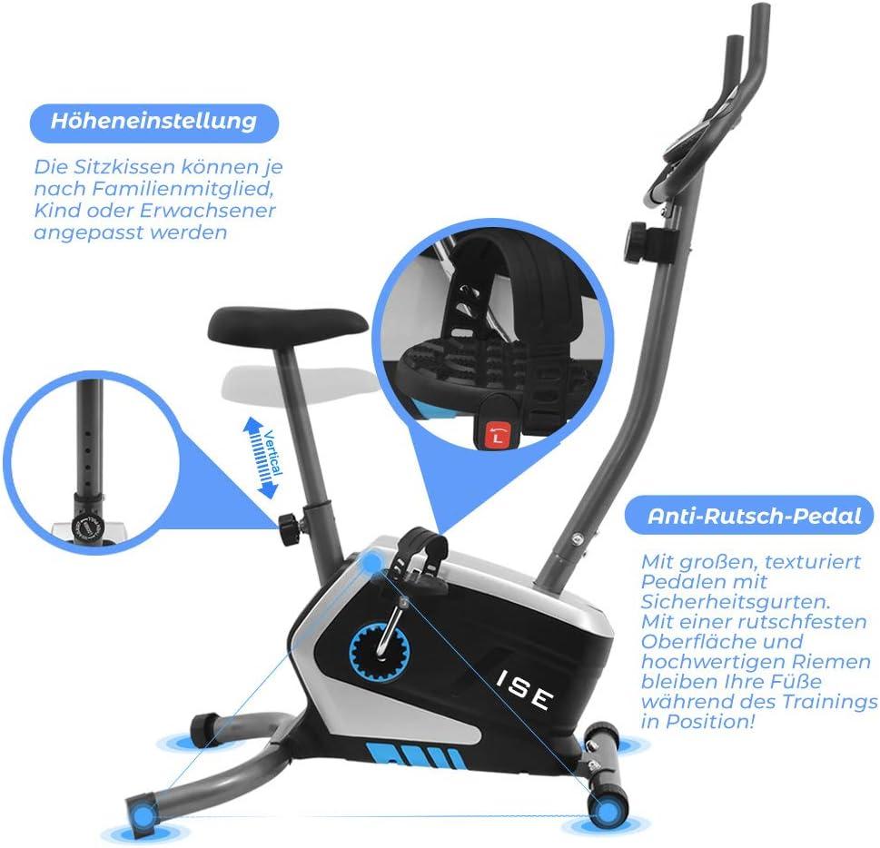 ISE Ergometer Fitness Fahrrad SY-8801 - Ergonomie und Komfort