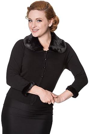 Manches 40Amazon Noir Banned 34 Femme Manteau hstdxBQrC