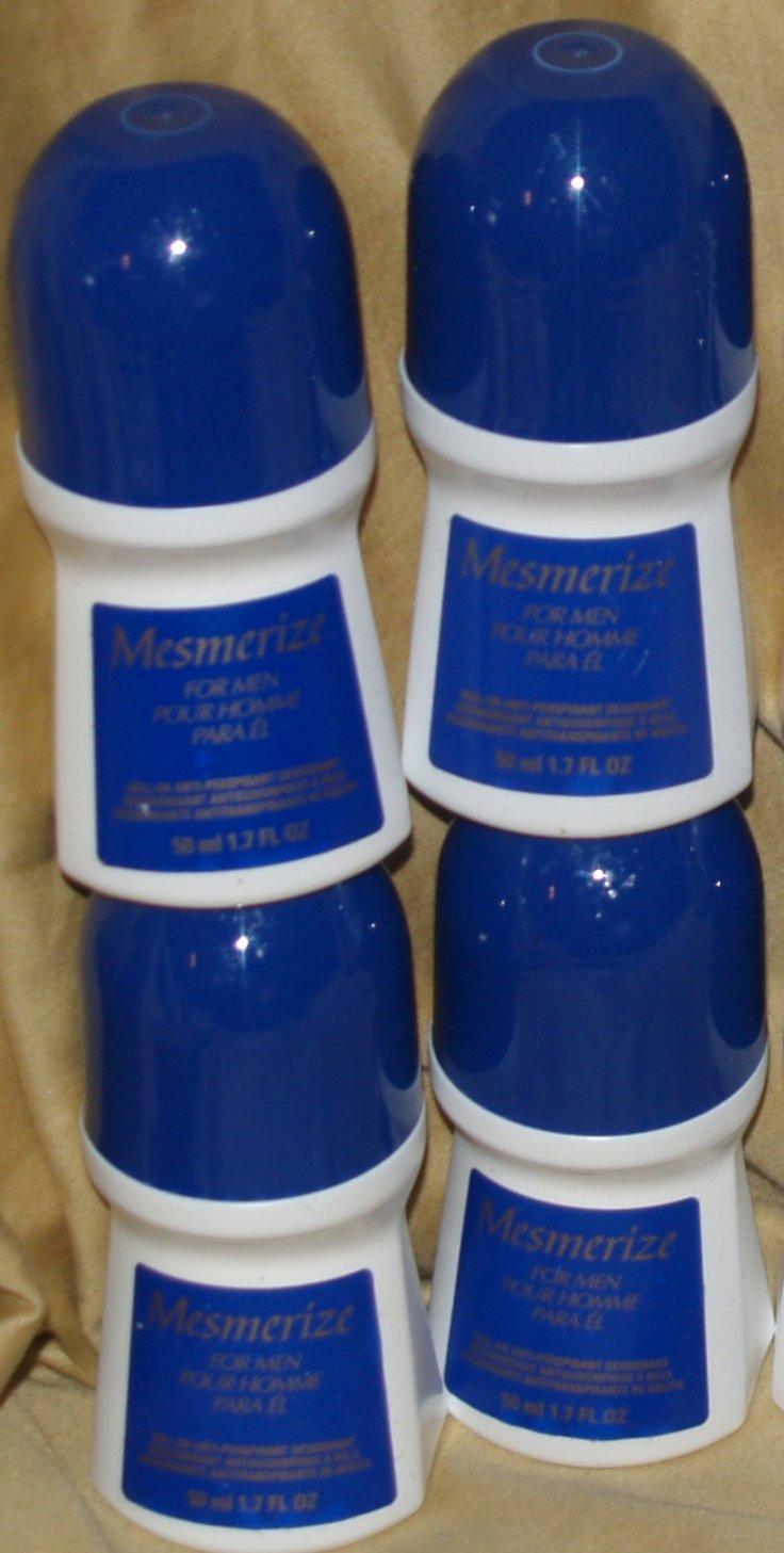 Avon Set of 4 Mesmerize Deodorants by Avon