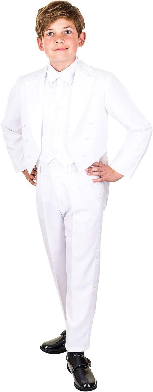 Festlicher 5tlg Fliege und Jacke Weste oder Kummerbund Jungen Smoking in vielen Farben mit Hose Hemd