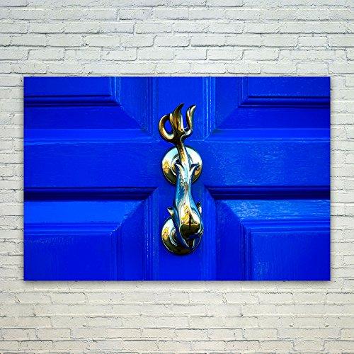 Westlake Art Poster Print Wall Art - Blue Cobalt - Modern Pi