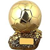 2020 Football Trophy golden ball soccer League cup fans souvenir Electroplating process model resin replica Anti…