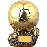HTYX 2020 Trofeo de Fútbol balón de Oro de fútbol Liga Ventiladores de la Taza de Recuerdo de galvanoplastia réplica de Resina Modelo de Proceso anticorrosión no se desvanece de Letras Gratis