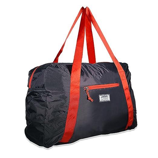 Mangrove Sac de Voyage 53cm 46L Pliable Léger sac Sport Femme Homme Imperméable Sacoche pour Luggage Gym Sports Overnight Travel 75lJ25l