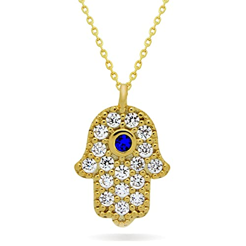 hand hamsa and necklace bobbles medium lace sterling