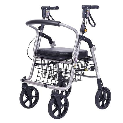 Mjb Carro de Compras Viejo Carro de Compras Carro Viejo Carrito de Compras Viejo Hombre andando