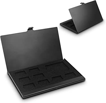 Senhai Caja de Aluminio de la Tarjeta de Memoria SD, Micro ...