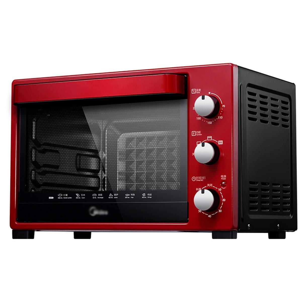 ZCYX ミニオーブン - 電気オーブングリル焼き肉ローストチキンウィング卵タルトサツマイモホーム多機能オーブン -7487 オーブン B07RR14SVC