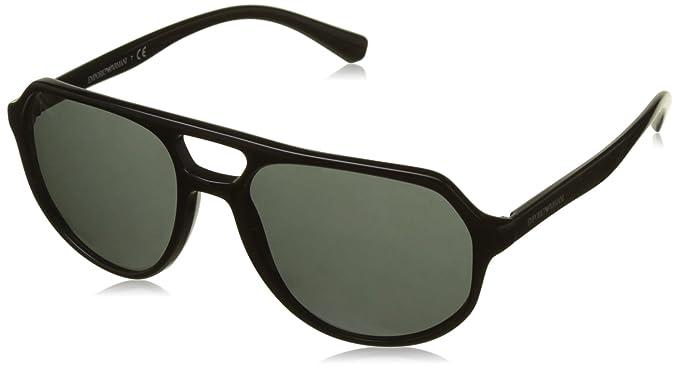 Emporio Armani 0EA4111 Gafas de sol, Black, 57 para Hombre