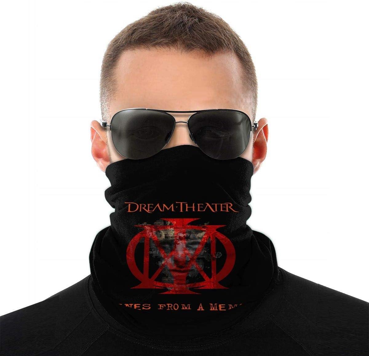 Not Applicable 12-In 1 Headbands,Dream Theater 16-En-1 Bandas De Sudor Sombreros Suaves para Protecci/ón UV Al Aire Libre,25x50cm