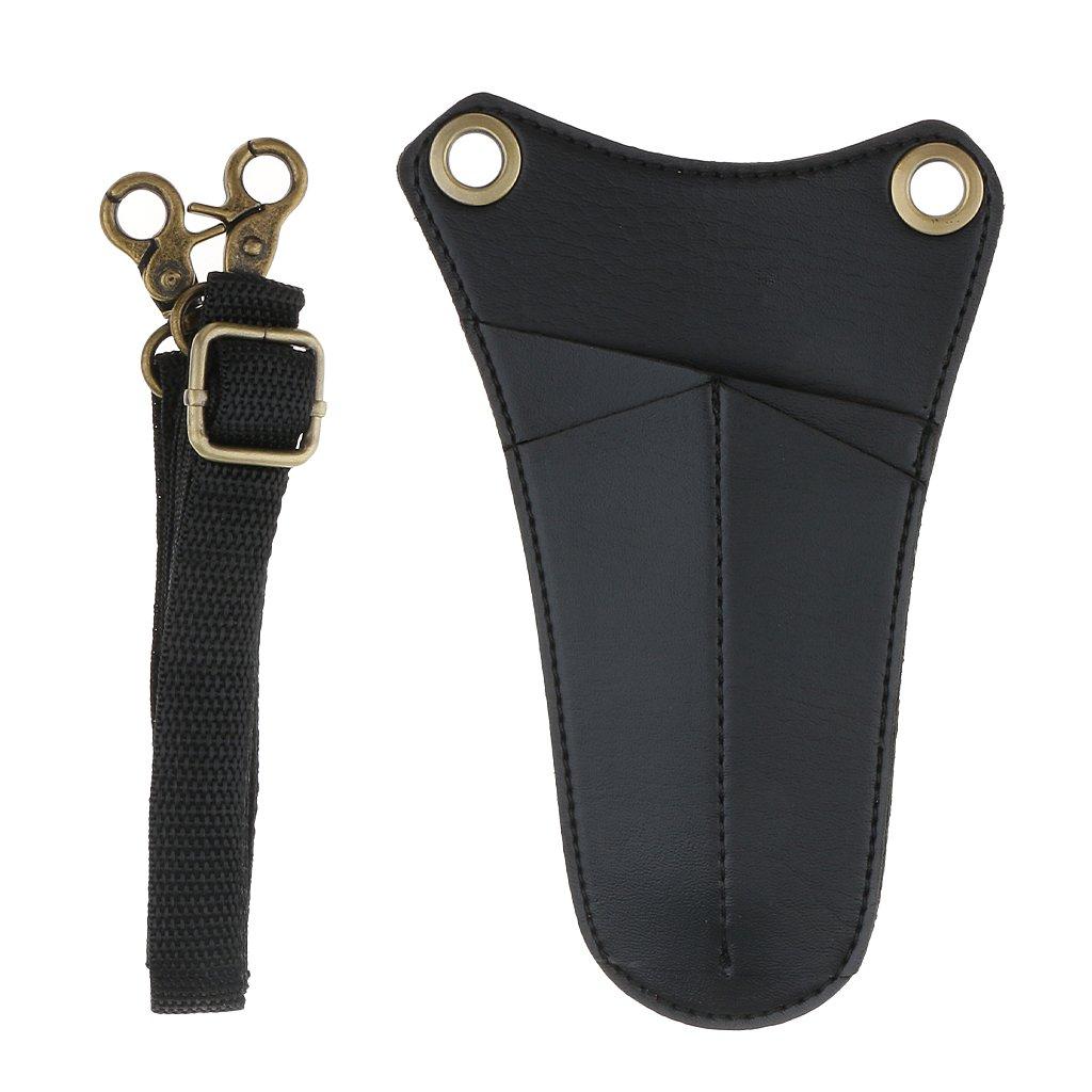 MagiDeal Salone Parrucchiere Forbici Sacchetto Saccho Cintura Strumento per Pettini Pennelli Custodia
