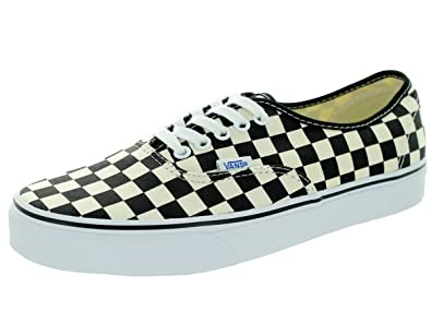 2829337c1c Image Unavailable. Image not available for. Color  Vans Unisex Authentic (Golden  Coast) Black White Checkerboard Skate Shoe 9.5 Men US