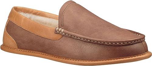 a59e10790e5 UGG Men's Lorne Slipper Chocolate Suede Size 11 M: Amazon.ca: Shoes ...