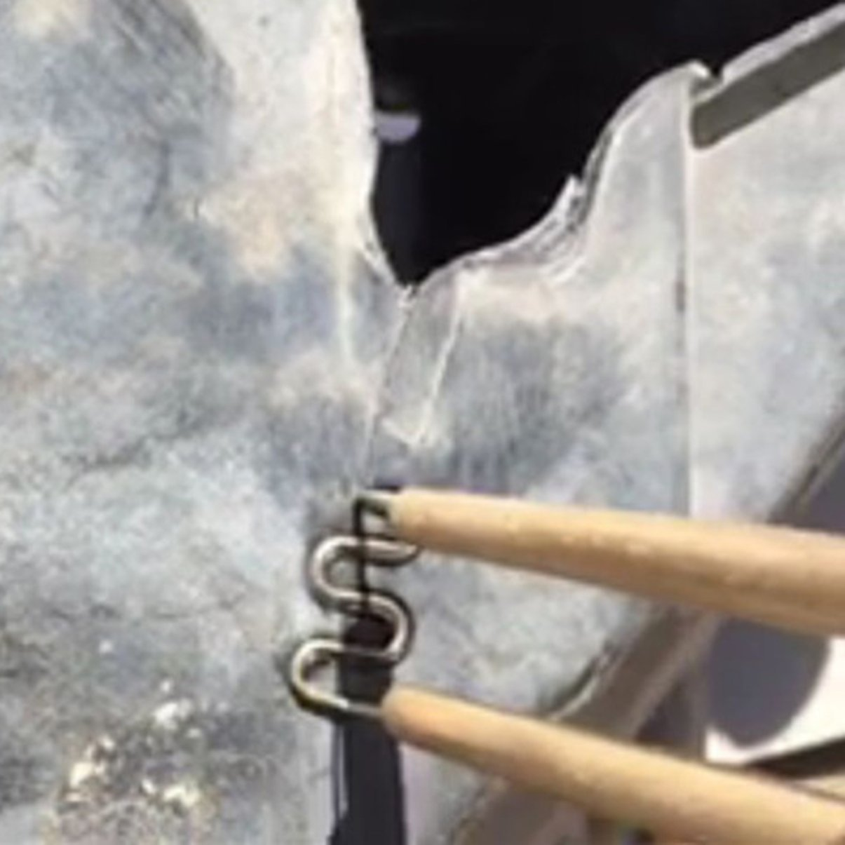 Outil en Plastique Professionnel de Corps de car/énage de Pare-Chocs de Soudure de syst/ème de r/éparation en Plastique Professionnel avec la Machine de Soudure en Plastique dagrafe Pratique