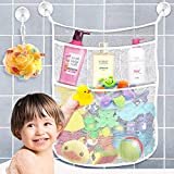 lovely simple kitchen plan Yihoon Bath Toy Organizer Shower Caddy - for Bathroom Baby Toy Storage Quick Dry Bathtub Mesh Net + 4 Soap Pockets with Suction Hooks