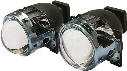 Faro LED para coche Q5 Bi-xenon Proyector Lente 3.0 pulgadas D1S ...