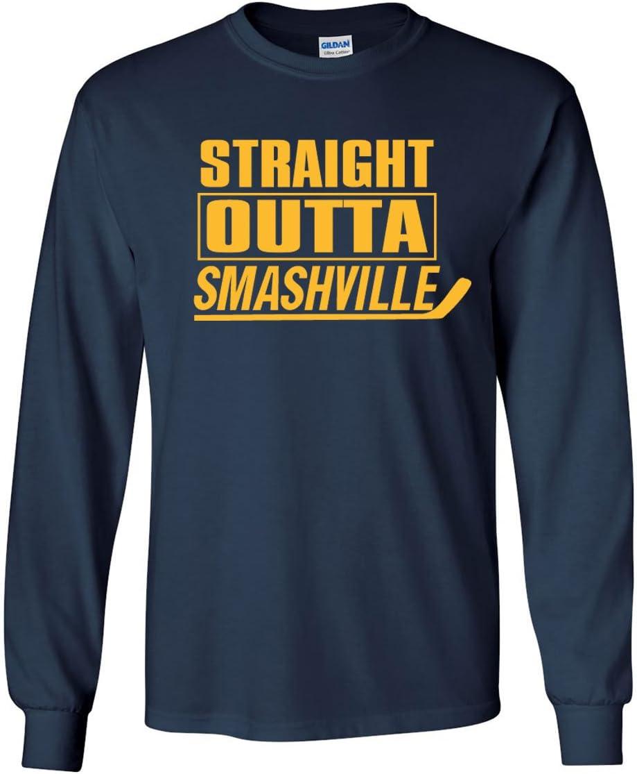 "Nashville Predators /""Straight Outta Smashville/"" T-shirt Shirt or Long Sleeve"