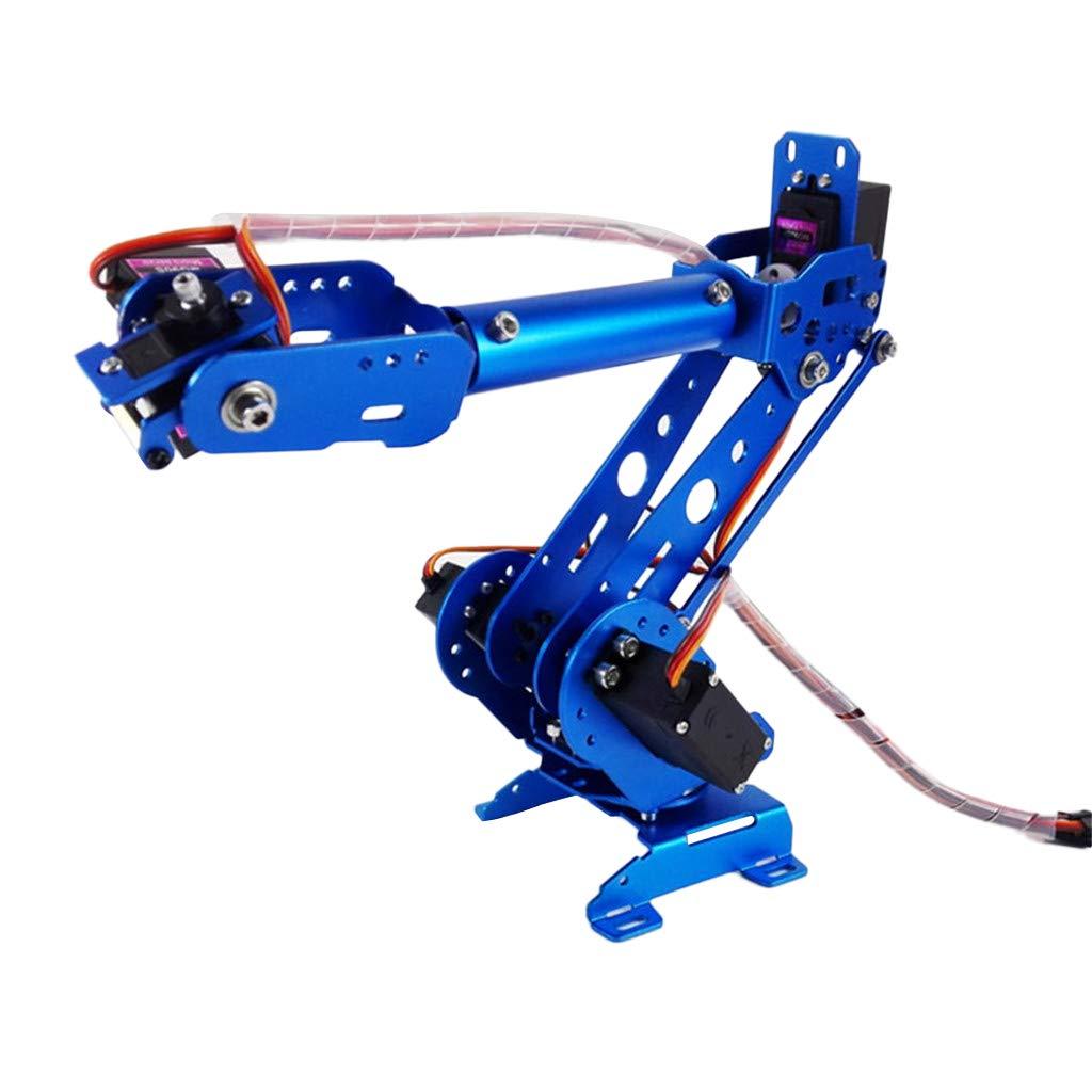 B Blesiya Kit di Braccio Pinza Sterzo Robot WiFi Controllo Suite per Arduino Acciaio Inossidabile