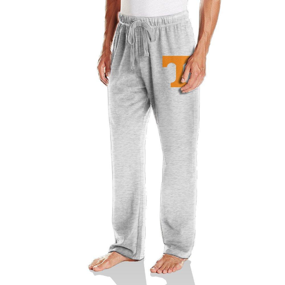 Bbin Mens Workout Pants University Of Tennessee Volunteers Logo Ash