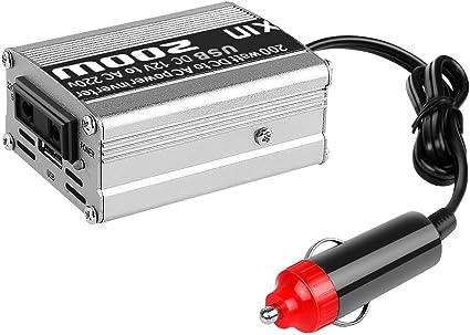 200W Car Power Inverter convertitore DC 12V a 220V AC Onda di seno modificata di alimentazione con uscita USB 5V