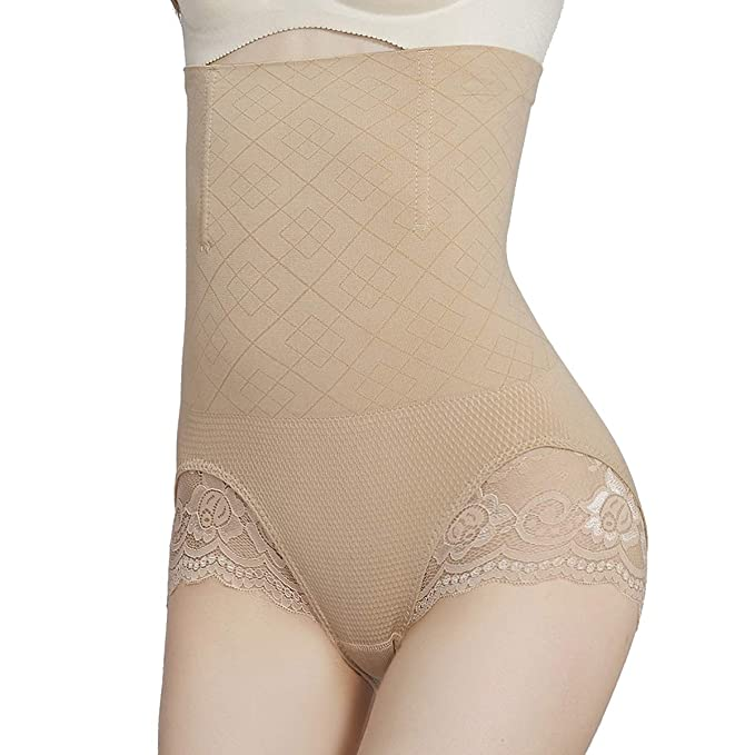 ad54058d025a2 SURE YOU LIKE Women Hi-Waist Body Shaper Butt Lifter Panties Tummy Control  Shapewear Waist