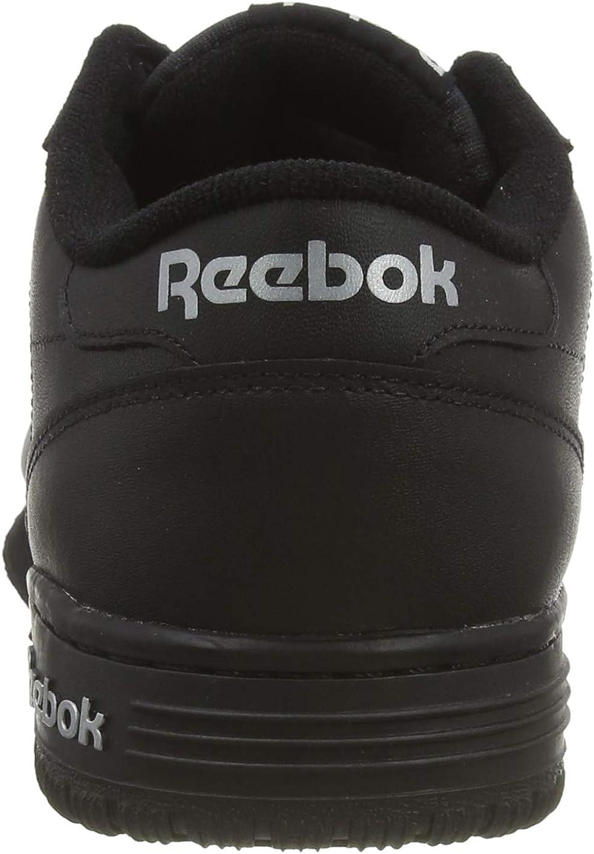 Reebok Exofit Lo Clean Logo Int, Baskets Basses Homme Noir Intense Black Silver Silver 0