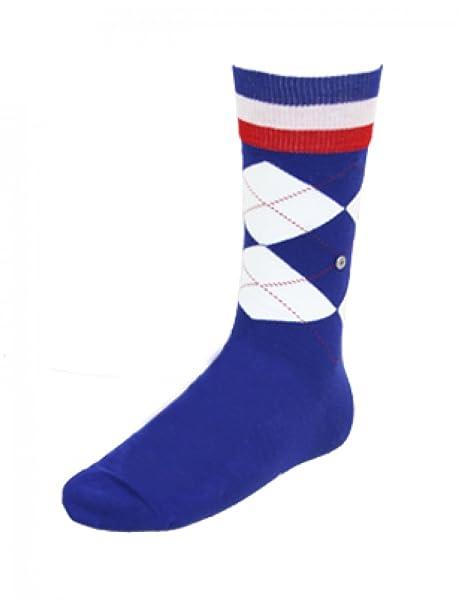 BURLINGTON Subwoofer países France-Calcetines para hombre, color azul azul: Amazon.es: Ropa y accesorios