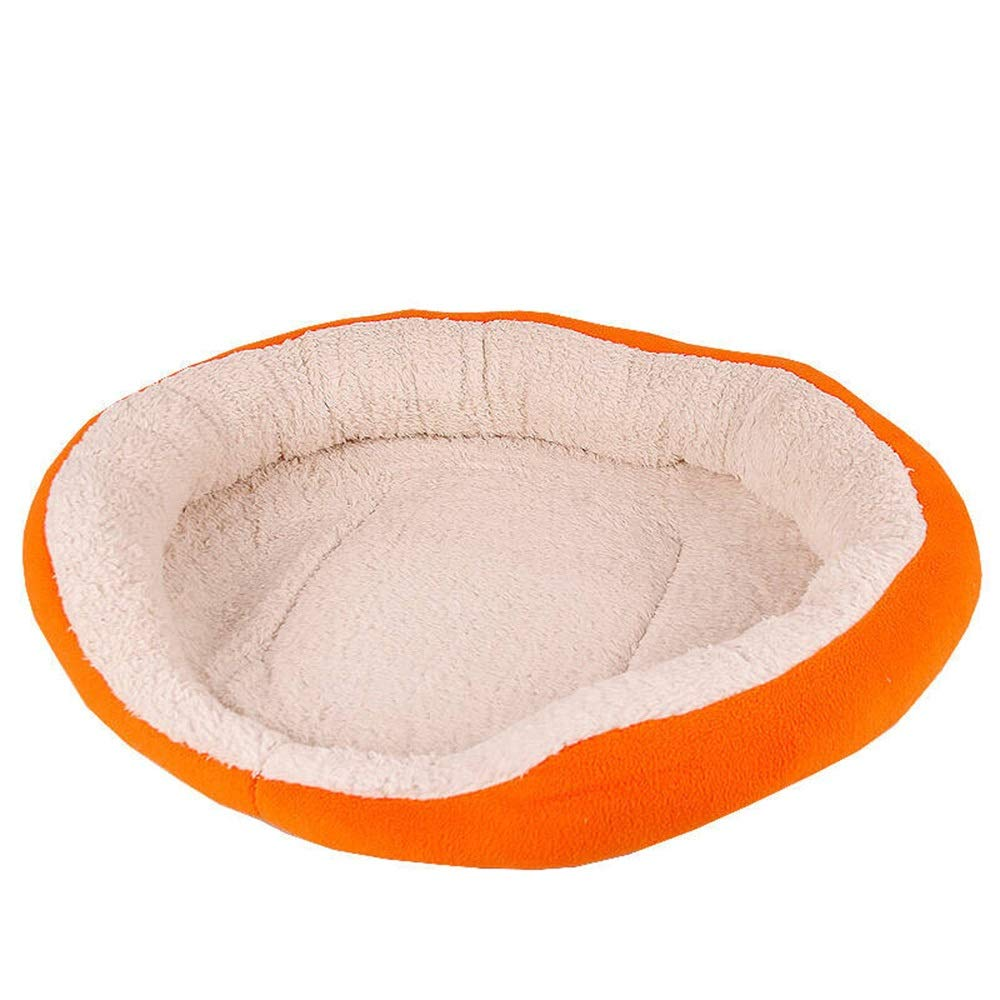 B 32CMX35CM B 32CMX35CM Jian E  Pet Nest Kennel Removable and Washable Teddy golden Hair Thickened Dog Bed Large Dog Winter Puppy Dog Supplies  -  (color   B, Size   32CMX35CM)