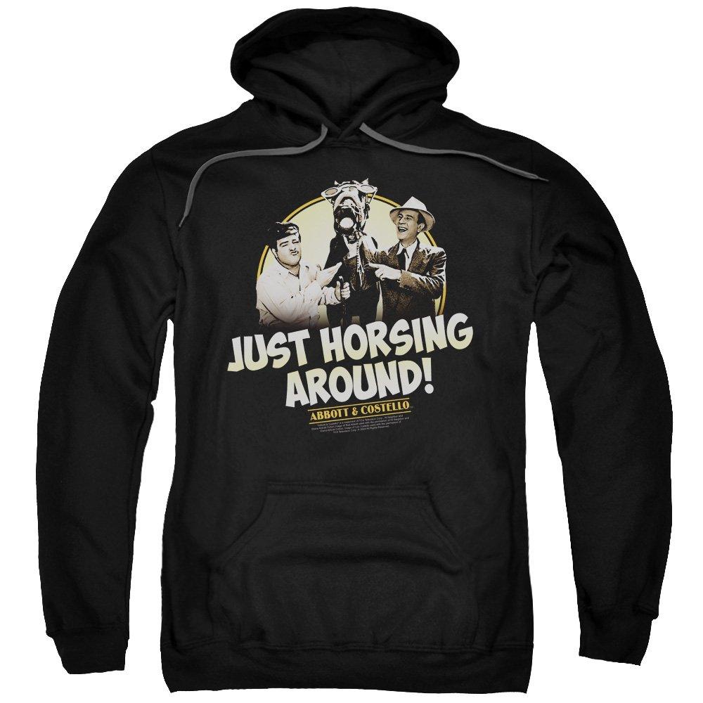 2Bhip Abbott & costello comedy-duo klassischen horsing um hoodie für Herren