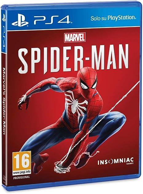 Marvels Spider-Man - PlayStation 4 [Importación italiana]: Amazon.es: Videojuegos