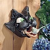 Design Toscano Cat-Astrophe Sculptural Birdhouse For Sale