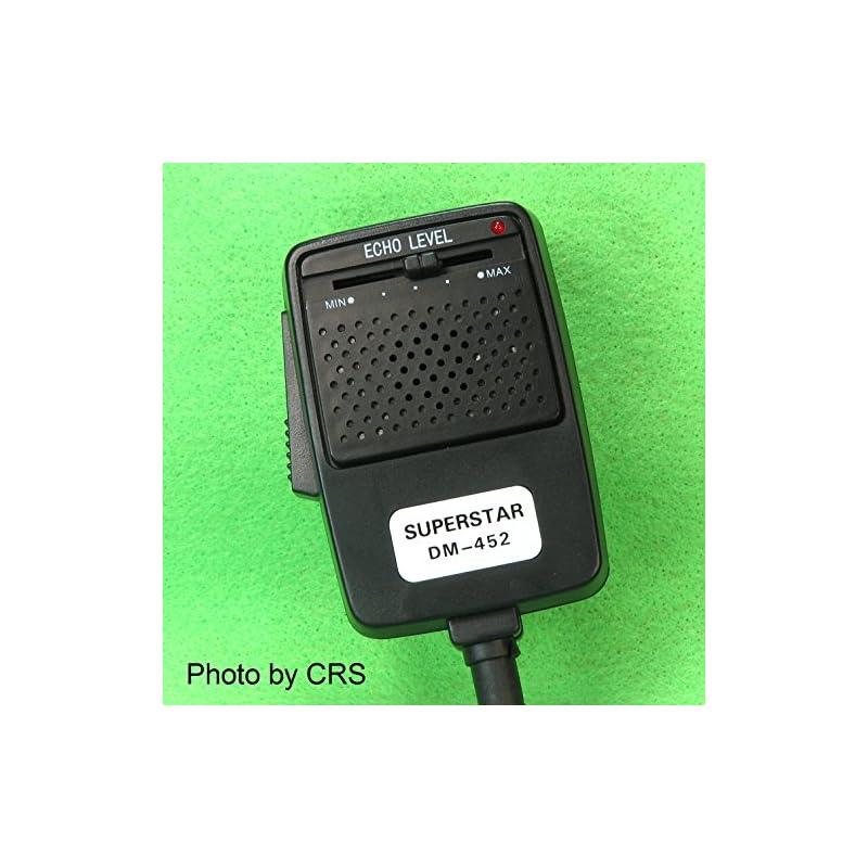 CB Radio ECHO/Power Mic/Microphone with
